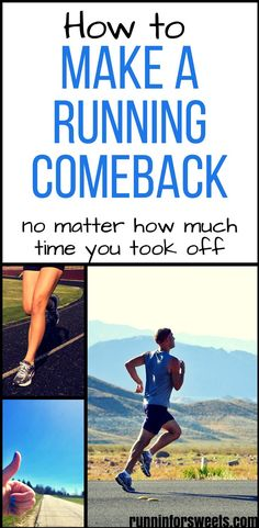 No matter how much you love running, at some point you will have to take time off. Making a running comeback after a break can be tough, but here is how to get back to running with ease. Whether you took a break for a week or a year, these strategies will help you get back out the door and rediscover your running motivation. #runningcomeback #runningtips #startrunning
