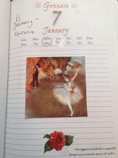 January diary illustrations
