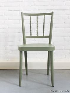 Vintage I chair   available in various colors   Olive