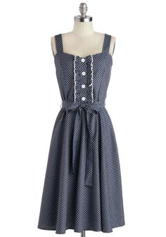 About the Musician Dress in Dots, #ModCloth