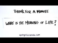 What is the Meaning of Life? Meaning Of Life, Meant To Be, Cards Against Humanity, Learning, Math Equations, Youtube, Studying, Teaching, Youtubers