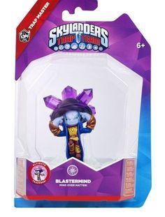 Skylanders TRAP TEAM BLASTERMIND TRAP MASTER Skylander Action Figure NEW in BOX #SKYLANDERS