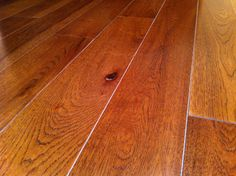 "Mullican Flooring, Muirfield 5"" Solid Hardwood in Hickory Saddle"