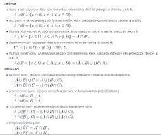 Znalezione obrazy dla zapytania Teoria mnogości