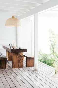 original conjunto de muebles de madera