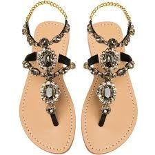 Mystique Sandals features unique hand crafted leather women's sandals that are embellished with jewelry Pretty Sandals, Cute Sandals, Cute Shoes, Me Too Shoes, Sparkly Sandals, Black Sandals, Mystique Sandals, Jeweled Sandals, Balenciaga Shoes