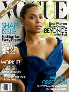 Beyonce - Vogue magazine covers