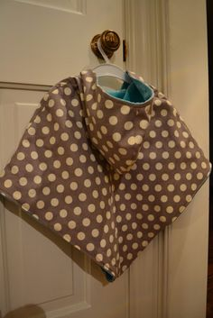 Free Sewing Tutorial - DIY Hooded Poncho Ok so here goes... my first sewing tutorial... be patient with me and please ...
