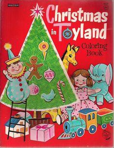 ''Christmas in Toyland'' Circa 1960s Saalfield   eBay