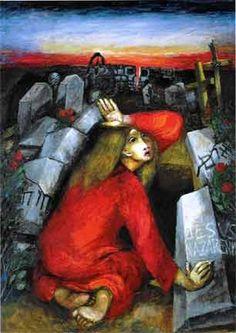 Maria von Magdala am Grab