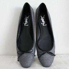 Tip: Yves Saint Laurent Flats (Grey)