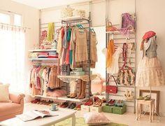 artsy closet :)