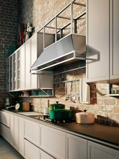 Snaidero USA provides the American market with the finest in Italian modern luxury kitchen designs, created by the world's foremost architects and designers. Cottage Kitchen Cabinets, Small Cottage Kitchen, Painting Kitchen Cabinets, Kitchen Paint, Island Kitchen, Kitchen Countertops, European Kitchens, Modern Farmhouse Kitchens, Farmhouse Kitchen Decor