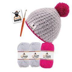 Daisy pattern in rows - crochet pattern step by step - Häkeln - Stricken Blog Crochet, Free Crochet, Knit Crochet, Crochet Hats, Daisy Pattern, Free Pattern, Crochet Motifs, Crochet Patterns, Knitted Headband