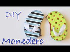 "Monedero DIY ""Havaiana""-Manualidades Para Todos - YouTube"