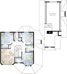 Flexible Victorian Design - 2181DR | 1st Floor Master Suite, Bonus Room, CAD Available, Canadian, Corner Lot, Country, Den-Office-Library-Study, Metric, PDF, Photo Gallery, Victorian, Wrap Around Porch | Architectural Designs