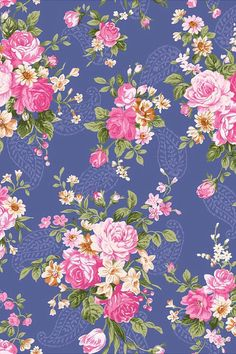 Girly floral wallpaper or for planners Flower Wallpaper, Pattern Wallpaper, Wallpaper Backgrounds, Iphone Wallpaper, Textures Patterns, Print Patterns, Decoupage Paper, Vintage Paper, Vintage Floral