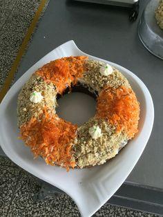 Queque de Zanahoria.