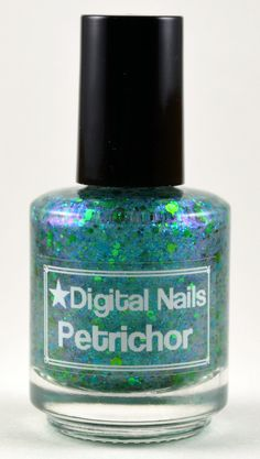 Petrichor: a Doctor Who inspired nail lacquer from Digital Nails
