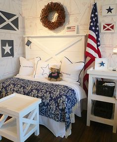 Bedroom Decorating Ideas New England Style new england style hall with stars and stripes | shop | pinterest