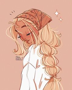 ✨ Day Silky Head Scarf ✨ I am so happy that so many of you participated in my challenge already! It's so nice seeing all… Girl Drawing Sketches, Cute Girl Drawing, Cute Art Styles, Cartoon Art Styles, Arte Monster High, Art Inspiration Drawing, Digital Art Girl, Character Drawing, Illustration Art