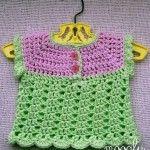 Summer Breeze Baby Sweater - free #crochet pattern on Moogly!