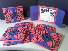 Make your own spider man birthday invitations spiderman birthday spiderman birthday party invites solutioingenieria Gallery