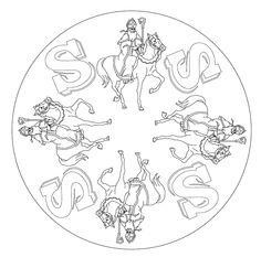 Kleurplaten Sint Mandala.111 Beste Afbeeldingen Van Sinterklaas Kleurplaten In