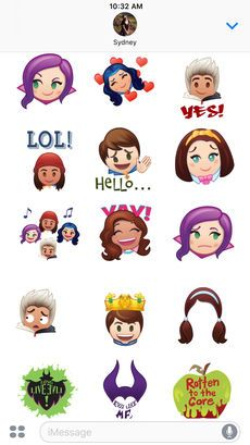 ‎Disney Stickers: Descendants on the App Store Sticker App, New Sticker, Descendants Pictures, Disney Prices, Emoji Characters, Baby Tortoise, Disney Channel Descendants, Disney Decendants, Zombie Disney