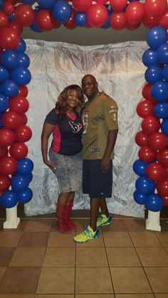 Texans Party  Theme Decor Adult Female Birthday profullserve.com