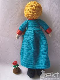 tricroche: The Little Prince back free pattern will need translation The Little Prince, Origami, Free Pattern, Crafty, Dolls, Disney Princess, Knitting, Disney Characters, Handmade