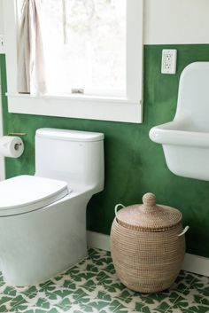 Ginkgo and Magnolia Bathroom Tiles | Fireclay Tile | Fireclay Tile