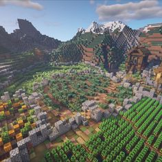 Minecraft House Plans, Minecraft Farm, Minecraft Houses Survival, Minecraft Medieval, Cute Minecraft Houses, Minecraft House Designs, Minecraft Construction, Amazing Minecraft, Minecraft Blueprints