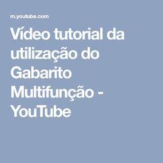 Vídeo tutorial da utilização do Gabarito Multifunção - YouTube