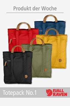 Wir empfehlen: #Totepack No. 1 -  Flexible Tasche aus kräftigem, gewachstem Gewebe, die über der Schulter, in der Hand und auf dem Rücken getragen werden kann. Mit Reißverschlussöffnung und Sicherheitstasche. Vol. 14 L  Nur solange der Vorrat reicht! http://www.rucksack.de/Marken/Fjaellraeven/9402/Fjaellraeven-Totepack-No.1