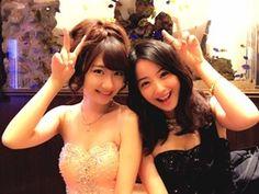 """Cute"", aren't they? Beautiful Figure, Prom Dresses, Formal Dresses, Top Coat, Japanese Girl, Cute Girls, Asian Girl, Singer, Actresses"