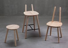 Naïve Family is a minimal furniture collection created by Copenhagen-based designers etc.etc..