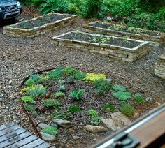 more stone raised beds