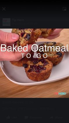 Tip Hero video for Baked Oatmeal. https://www.facebook.com/tiphero/videos/10154498716178761/