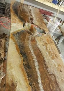 DIY countertop product alternative to Giani Granite Paint.