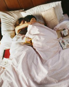the perfect lazy morning in bed