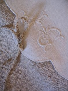 Embroidered Linens