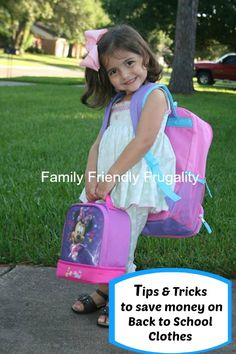 save money on children's clothing for back to school!