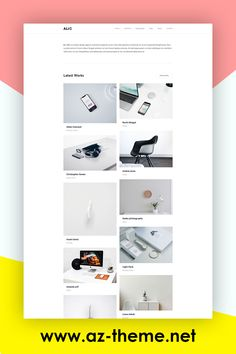 Alio Minimal Portfolio WordPress Theme - Portfolio WordPress Template - Responsive WordPress Portfolio Template - Free Installation Alio is a high-quality creative theme with great style and clean code. Alio can be used for many purposes starting from minimal portfolios, agencies, freelancers and much more. The theme is created and tested in all devices and works perfectly without a single issue. #portfoliowordpresstheme #portfoliowordpresstemplate #responsivewordpress