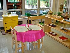 A wonderful blog with great pictures of the Montessori environment.