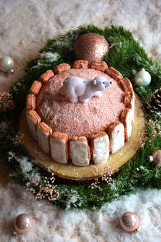 Gâteau de Noël au champagne, biscuits de Reims & crème de marrons Charlotte Au Fruit, Biscuits Roses, Christmas 2017, Sweet Recipes, Tiramisu, Muffins, Champagne, Ethnic Recipes, Nouvel An