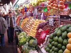 Las Ramblas Market, Barcelona