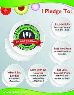 Have you taken the mindful eating pledge?