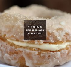 Via thrillist - We've compiled a handy map of top-tier donut shops across TWENTY ONE Chicago neighborhoods. You're welcome. Chicago Travel, Chicago City, Chicago Style, Chicago Illinois, Chicago Trip, Visit Chicago, Chicago Vacation, Chicago Neighborhoods, Chicago Restaurants