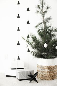 Smart Tips to Decorate with Small Christmas Trees Get more ideas @ www.elenaarsenoglou.com